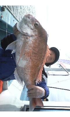 本日午前船の大型6.4kg!! 他に1.2kgも!!