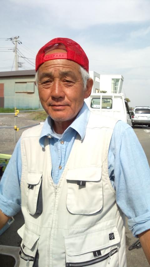 9日 アジの小林氏